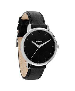 Nixon | Часы Женские Kensington Leather Black