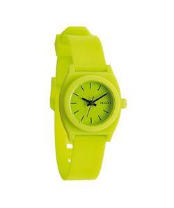 Nixon | Часы Женские Small Time Teller P Lime