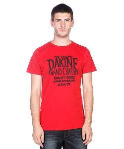 Dakine | Футболка Hand Crafted Vintage Red