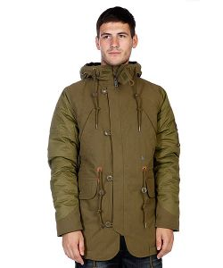 Volcom | Куртка Зимняя Parkanoid Parka New Blackboard Green