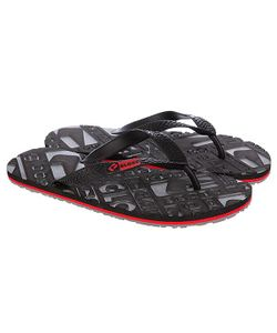 Globe | Шлепанцы Closeout Black/Charcoal/Red