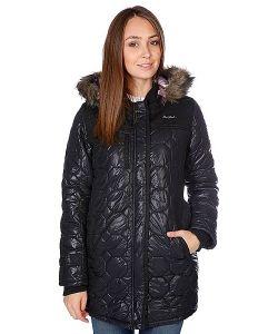 Zoo York | Куртка Зимняя Женская Adirondack Quilted Coat Blk