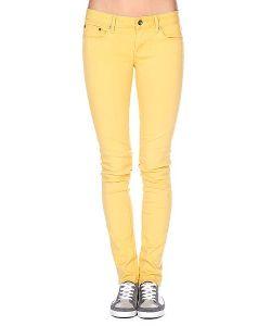 Roxy | Штаны Узкие Женские Suntrippers Colors L Creamy Gold