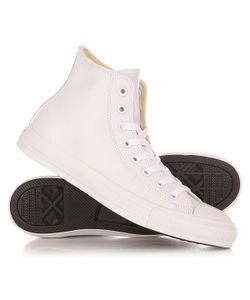 Converse | Кеды Кроссовки Высокие Chuck Taylor All Star Hi White