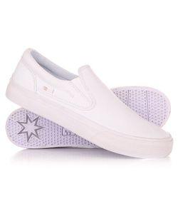Dcshoes | Слипоны Dc Shoes Trase Slip-On Tx White