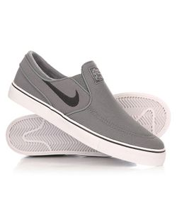 Nike | Слипоны Zoom Stefan Janoski Slip Cnvs Cool Grey/Black/White
