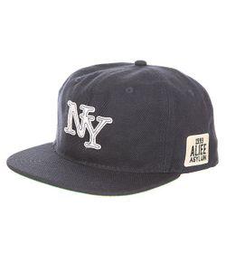 Alife | Бейсболка С Прямым Козырьком Nueva York Snapback Peacoat