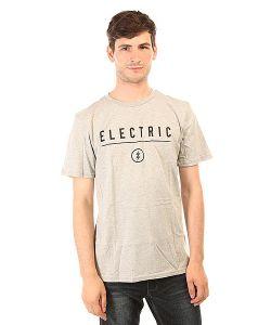 Electric | Футболка Corp. Identity Heather Grey