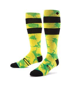 Stance | Носки Высокие Snow Burner Yellow