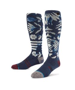 Stance | Носки Высокие Snow A Tribe Called Shred Navy