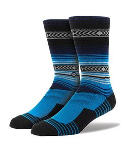 Stance | Носки Средние Sidestep Athletic Fusion The Og Crew Blue