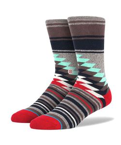 Stance | Носки Средние Sidestep Foundation Laredo Grey Heather