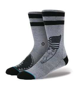 Stance | Носки Средние Foundation Spirit Grey