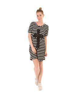 Emblem | Платье Женское Dress Line E26 Black/White