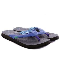 Sanuk | Шлепанцы Yoga Mat Electric Blue