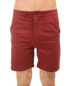 The Hundreds | Шорты Классические Industry Chino Short Burgundy