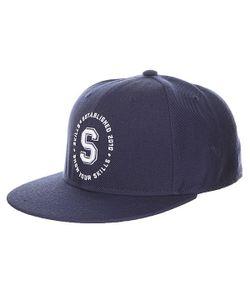 Skills | Бейсболка С Прямым Козырьком 05 Navy