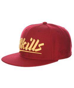 Skills | Бейсболка С Прямым Козырьком 03 Wine