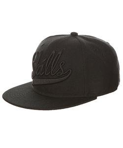 Skills | Бейсболка С Прямым Козырьком 01 Black
