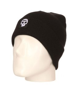 Zero | Шапка Single Skull Patch Beanie Black