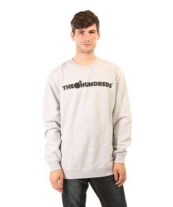 The Hundreds | Толстовка Классическая Forever Bar Crewneck Athletic Heather