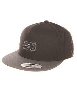 Quiksilver | Бейсболка С Прямым Козырьком Freewill Hats Black
