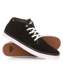 Quiksilver | Кеды Кроссовки Высокие Shorebrksuedmid Shoe Black/Black/White