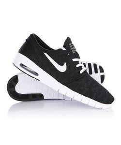 Nike | Кеды Кроссовки Stefan Janoski Max Black/White