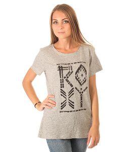 Roxy | Футболка Женская Crewrxytribes Heritage Heather