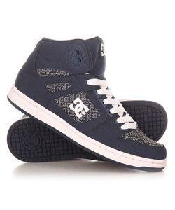 Dcshoes | Кеды Кроссовки Высокие Женские Dc Shoes Rebound High Tx Navy