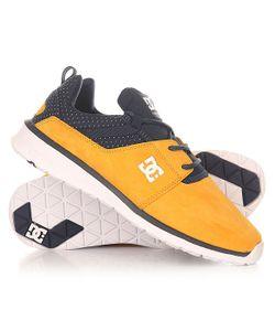 Dcshoes   Кроссовки Dc Shoes Heathrow Se Navy/Gold