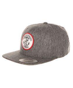Cliche | Бейсболка С Прямым Козырьком Melange Cap Black
