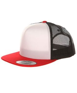 Yupoong | Бейсболка С Сеткой 6005fw Red/Black/White