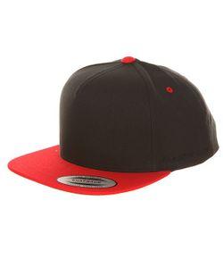 Yupoong | Бейсболка С Прямым Козырьком 6007t Red/Black