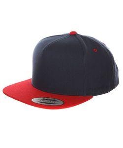 Yupoong | Бейсболка С Прямым Козырьком 6007t Navy/Red