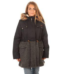 Roxy | Куртка Зимняя Женская Anzoras J Jckt True Black