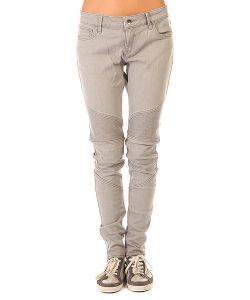Roxy | Штаны Узкие Женские Rebel J Pant Bleached Grey