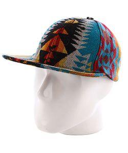 Pendleton | Бейсболка Flatbed Cap Turquoise Mini Yavapai