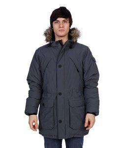 Penfield | Куртка Парка Hoosac Parka Faux Fur Charcoal