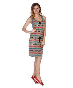 Stussy | Платье Женское Paint Stripe Tank Dress Taupe