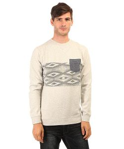 Quiksilver | Толстовка Свитшот Strangenightcre Otlr Sgrh Light Grey