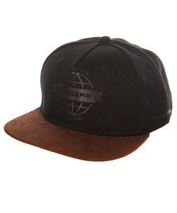 Truespin | Бейсболка С Прямым Козырьком Globe Black