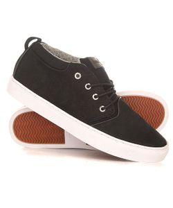 Quiksilver | Кеды Кроссовки Высокие Griffin Shoe Xkcw Black/Brown/White