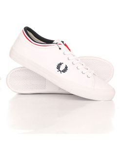 Fred Perry | Кеды Кроссовки Низкие Kendrick Tipped Cuff Canvas Light White