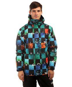 Quiksilver | Куртка Утепленная Mission Print Chakalapaki Origin
