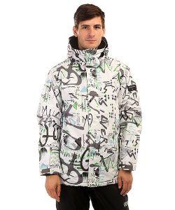 Quiksilver | Куртка Утепленная Mission Print Hieline White