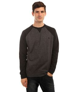Quiksilver | Толстовка Свитшот Everydaycrew Dark Grey Heather