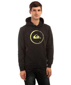 Quiksilver   Толстовка Кенгуру Big Logo Hood Black