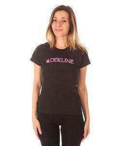 Dekline | Футболка Женская Bar Black