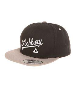 Ashbury | Бейсболка С Прямым Козырьком Script Felt Grey/Black